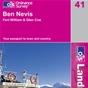 OS Landranger Map 41 Ben Nevis