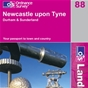OS Landranger Map 88 Newcastle upon Tyne