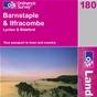 OS Landranger Map 180 Barnstaple & Ilfracombe
