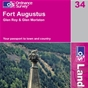 OS Landranger Map 34 Fort Augustus