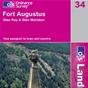 OS Landranger Map 34 Fort Augustus