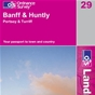 OS Landranger Map 29 Banff & Huntly