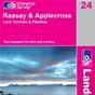 OS Landranger Map 24 Raasay & Applecross