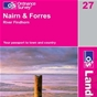 OS Landranger Map 27 Nairn & Forres