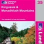 OS Landranger Map 35 Kingussie & Monadhliath Mountains