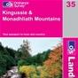 OS Landranger Map 35 Kingussie & Monadhliath Mountains