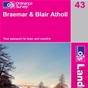 OS Landranger Map 43 Braemar & Blair Atholl