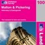 OS Landranger Map 100 Malton & Pickering