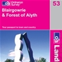 OS Landranger Map 53 Blairgowrie & Forest of Alyth