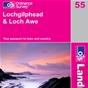 OS Landranger Map 55 Lochgilphead & Loch Awe