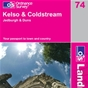 OS Landranger Map 74 Kelso & Coldstream