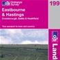 OS Landranger Map 199 Eastbourne & Hastings