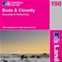 OS Landranger Map 190 Bude & Clovelly