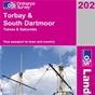 OS Landranger Map 202 Torbay & South Dartmoor