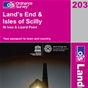 OS Landranger Map 203 Land's End & Isles of Scilly