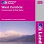 OS Landranger Map 89 West Cumbria