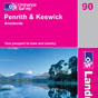 OS Landranger Map 90 Penrith & Keswick