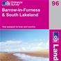 OS Landranger Map 96 Barrow-in-Furness & South Lakeland