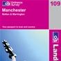 OS Landranger Map 109 Manchester