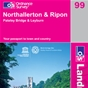 OS Landranger Map 99 Northallerton & Ripon