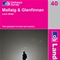 OS Landranger Map 40 Mallaig & Glenfinnan