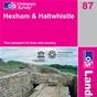 OS Landranger Map 87 Hexham & Haltwhistle