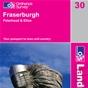 OS Landranger Map 30 Fraserburgh