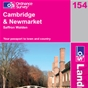 OS Landranger Map 154 Cambridge & Newmarket