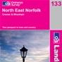 OS Landranger Map 133 North East Norfolk