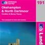 OS Landranger Map 191 Okehampton & North Dartmoor