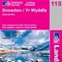 OS Landranger Map 115 Snowdon