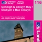 OS Landranger Map 116 Denbigh & Colwyn Bay