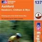 OS Explorer Map 137 Ashford