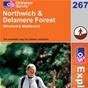 OS Explorer Map 267 Northwich & Delamere Forest