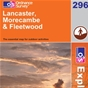 OS Explorer Map 296 Lancaster, Morecambe & Fleetwood