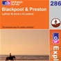 OS Explorer Map 286 Blackpool & Preston