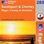 OS Explorer Map 285 Southport & Chorley