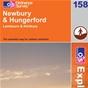 OS Explorer Map 158 Newbury & Hungerford