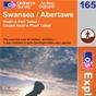 OS Explorer Map 165 Swansea
