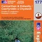 OS Explorer Map 177 Carmarthen & Kidwelly