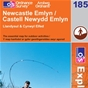 OS Explorer Map 185 Newcastle Emlyn