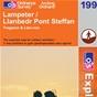 OS Explorer Map 199 Lampeter