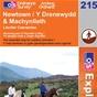 OS Explorer Map 215 Newtown & Machynlleth