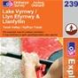 OS Explorer Map 239 Lake Vyrnwy & Llanfyllin