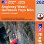 OS Explorer Map 262 Anglesey West