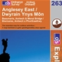 OS Explorer Map 263 Anglesey East
