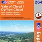 OS Explorer Map 264 Vale of Clwyd