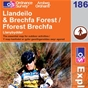 OS Explorer Map 186 Llandeilo & Brechfa Forest