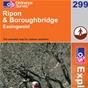 OS Explorer Map 299 Ripon & Boroughbridge