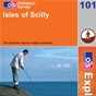 OS Explorer Map 101 Isles of Scilly
